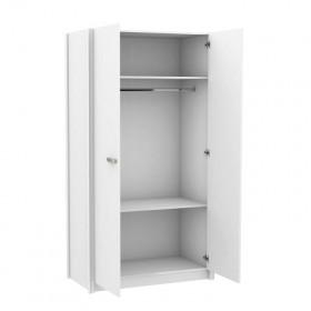 Wonder White guarda-roupa 2 portas 200x108,6x56,1cm