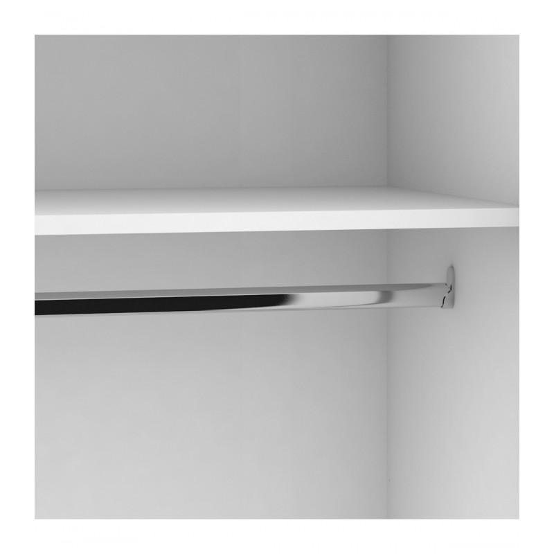 Wonder White armoire 2 portes 200x108,6x56,1cm