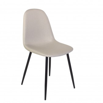 copy of Pack de 4 sillas tapizado/pata negra