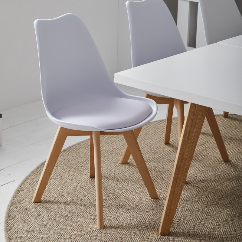 Nordic chaise de salle à manger 82,5x48,5x56