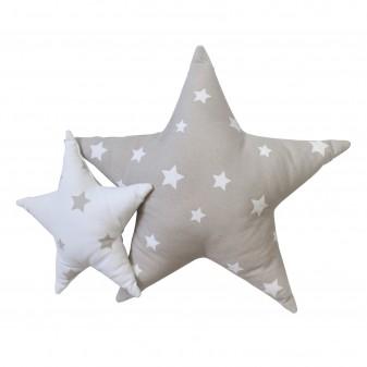 Star Set 2 cojines infantiles estrella