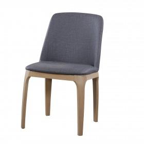 Velor silla de comedor 83x49x60