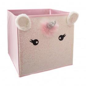 Unicornio caja de almacenamiento 31x29x29cm