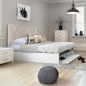 Venezia canapè bianco bianco 150x190cm