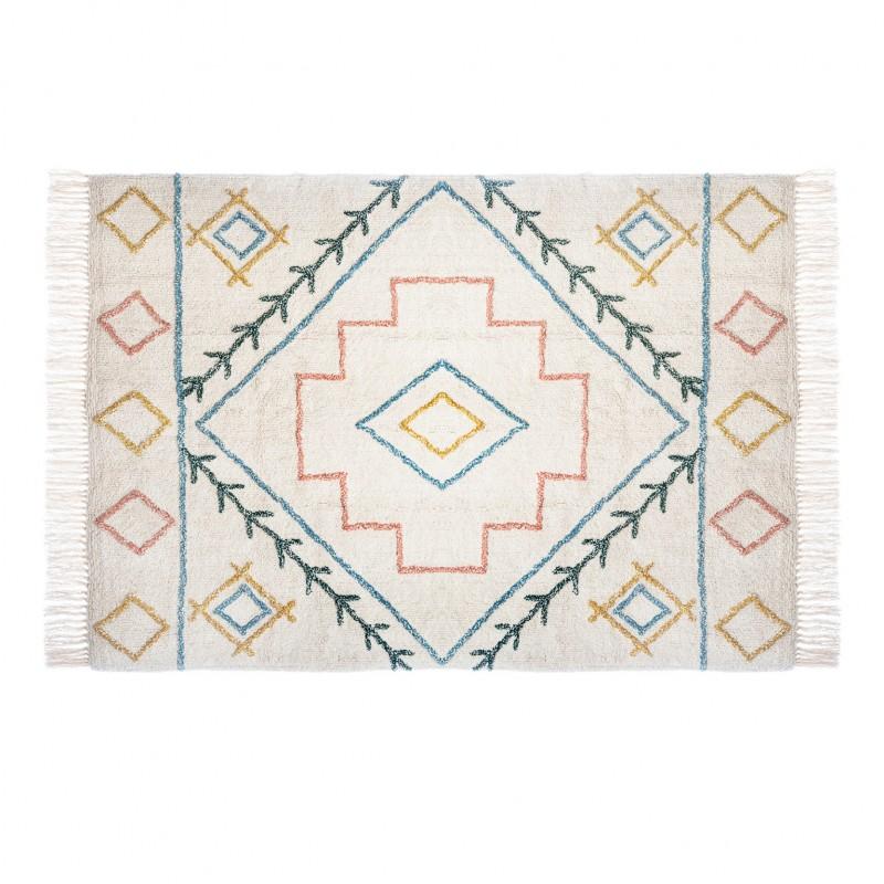 India tapis ethnique 120x170cm