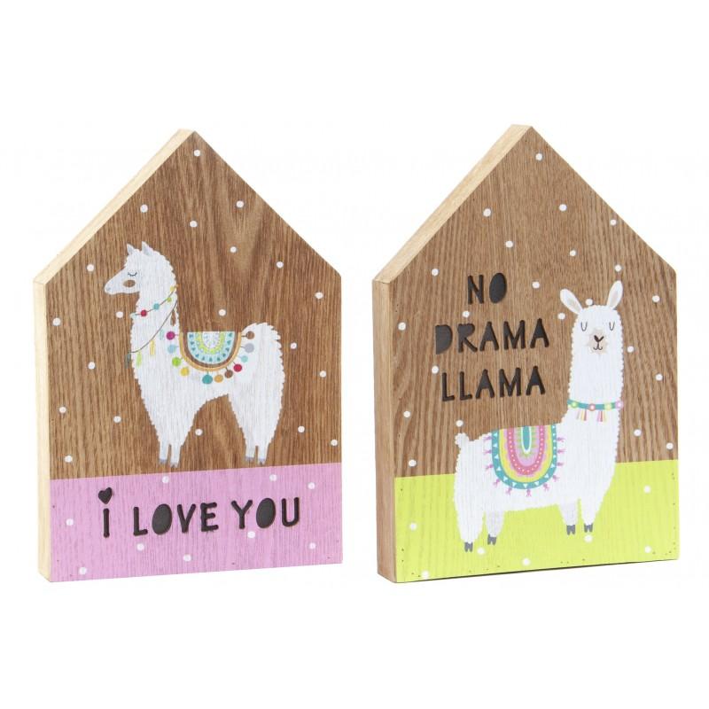 Happy llama Imagem Iluminação