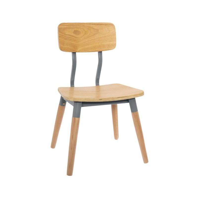 Retro chic silla infantil 53x30,5x32cm