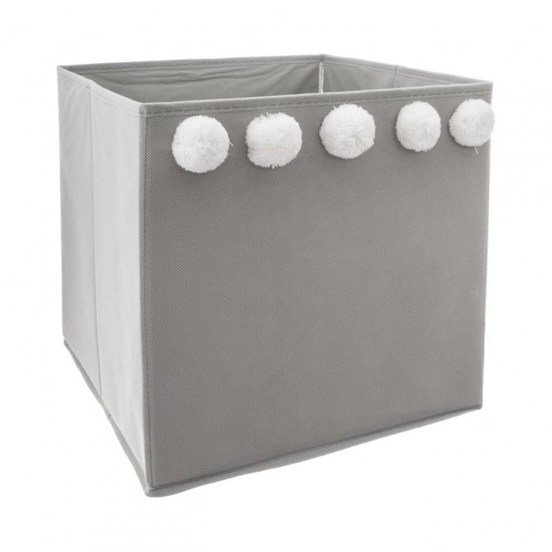 Pompon caja de almacenamiento 29x29x29cm