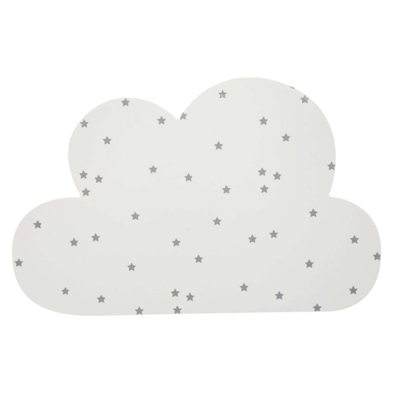 Aplique de parede nuvem e estrela