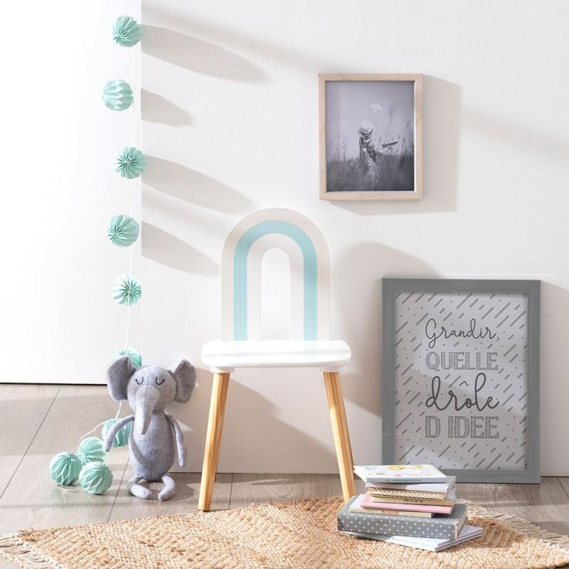 Arco Iris silla infantil 60x32x32cm