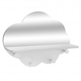 Cloud espelho prateleira 37,5x28x9cm