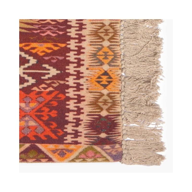 Boho tapete multicolorido 60x90 cm
