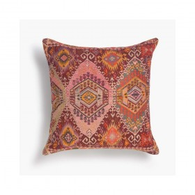 Cuscino multicolore boho