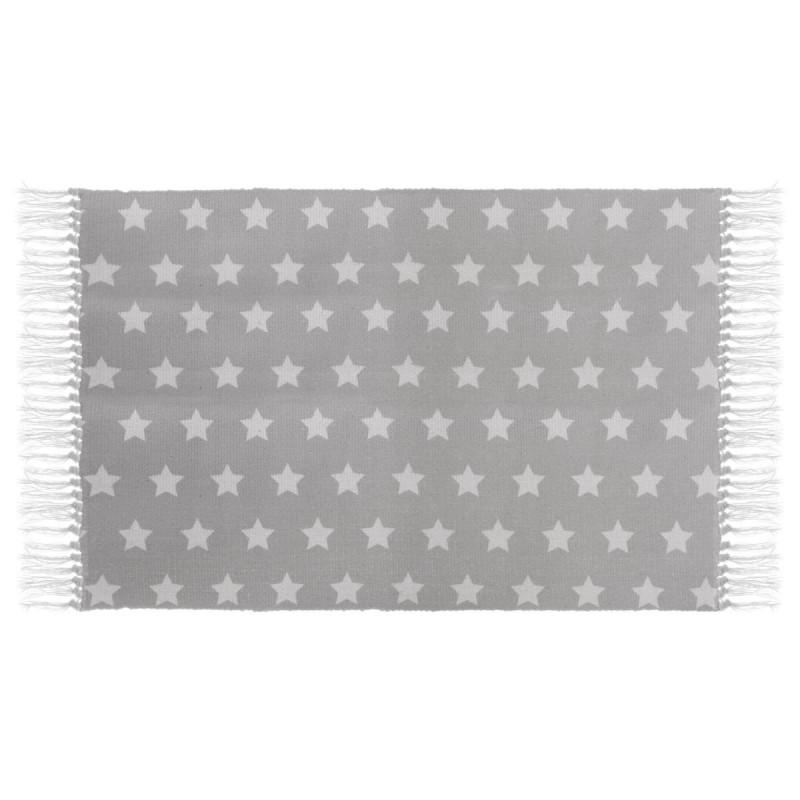 Star tapis gris 90x60cm
