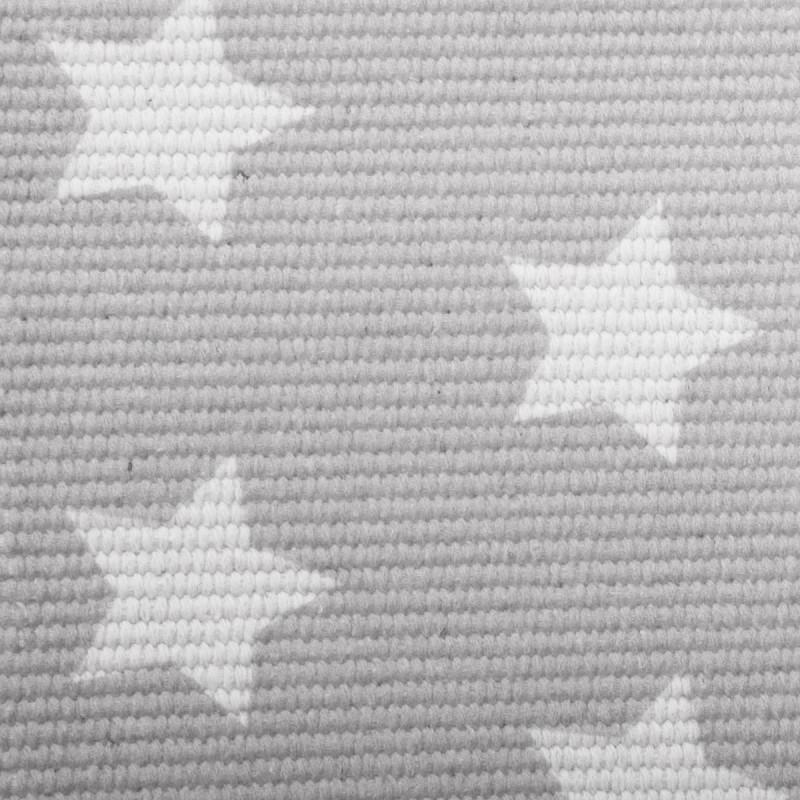 Star alfombra gris 60x90cm