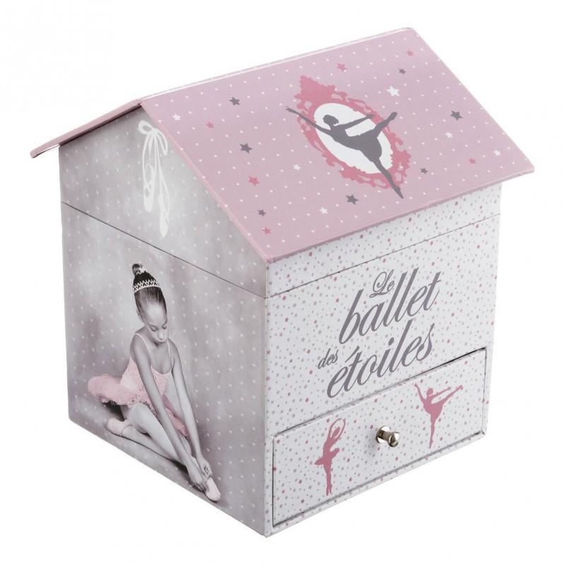 Odette caja de música bailarina 16x14.5x14cm