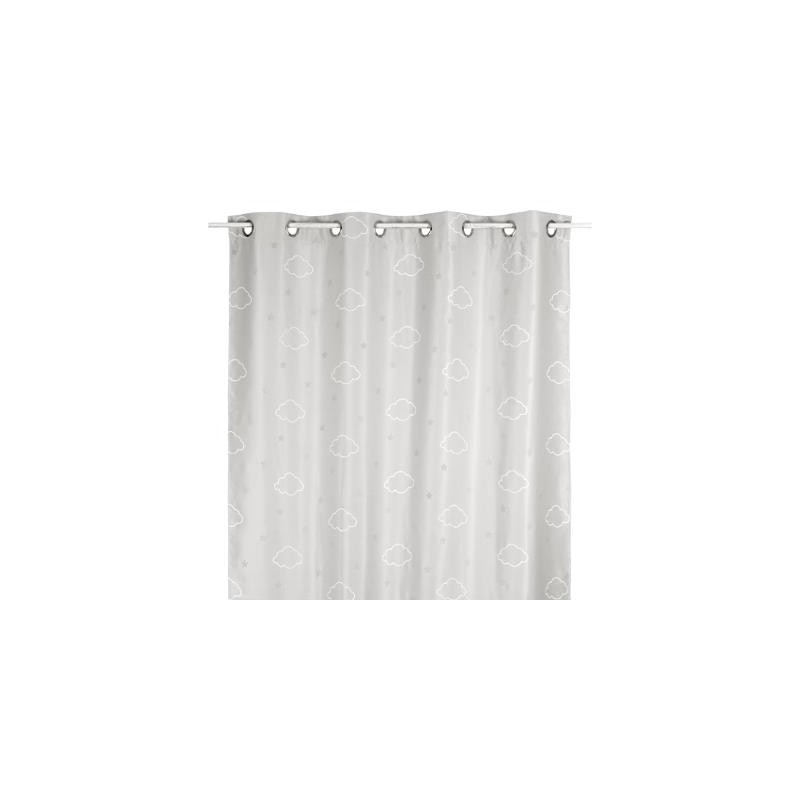 Nube cortina gris 250x140cm