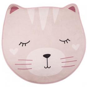 Kitten tapis rose ø90cm