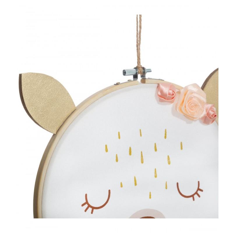 Bambi tambor pared 25x26,5x1cm