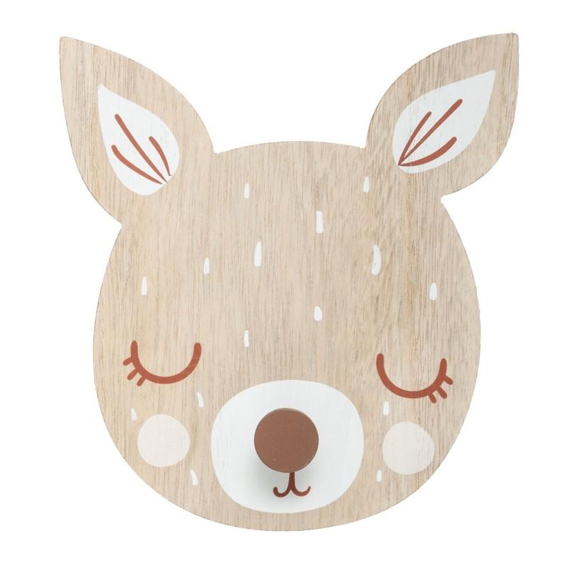 Perchero bambi 19,5x18x4cm