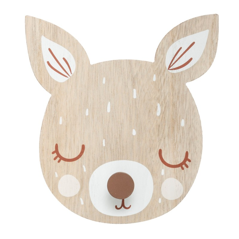 Bambi porte-manteau 19,5x18x4cm