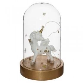 Unicorn lâmpada sino 18,5x22,5øcm