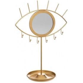 Gold Ojo porta-jóias 36x24.2x14cm
