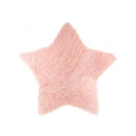 Star Tappeto stella rosa. 95x90cm