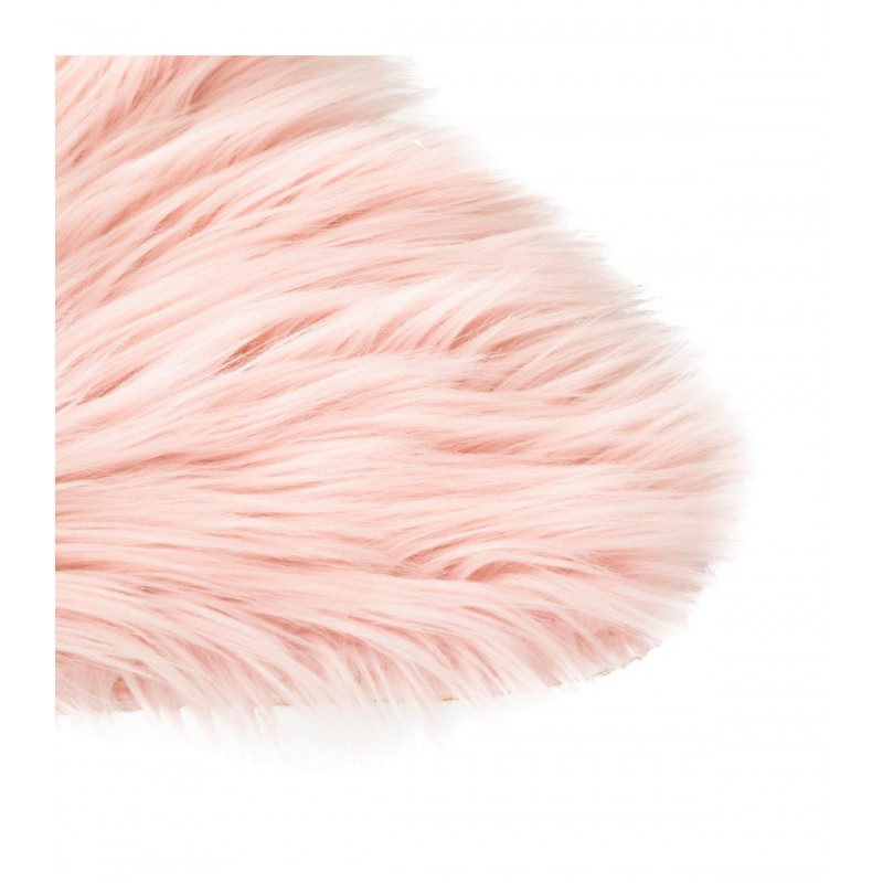 Star alfombra rosa peluche 95x90cm