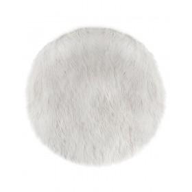 Polar Tappeto bianco morbido. ø90cm