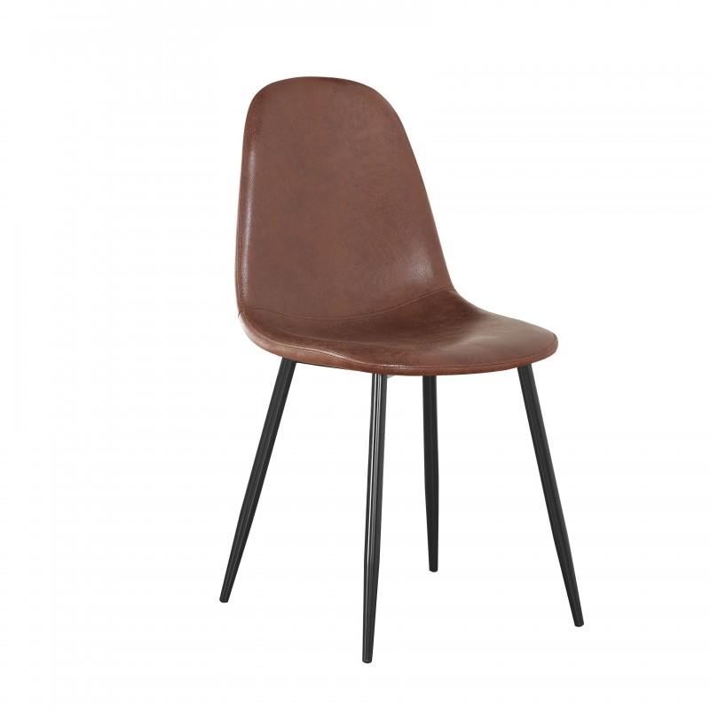 James Vintage chaise de salle à manger 88x54,5x45