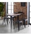 Linx mesa de cozinha 75x120x60cm