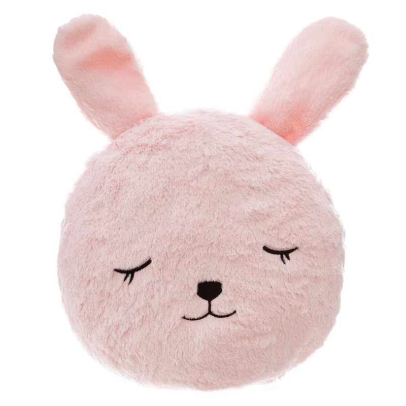 Conejo almofada rosa 27x27cm
