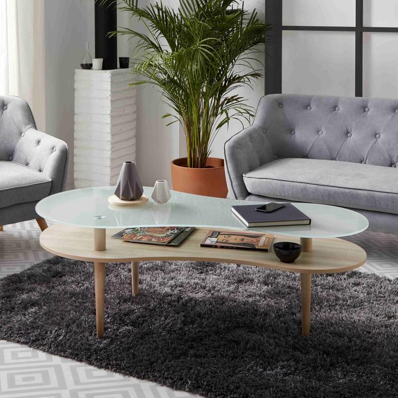 Nordic table basse 70x140x60cm