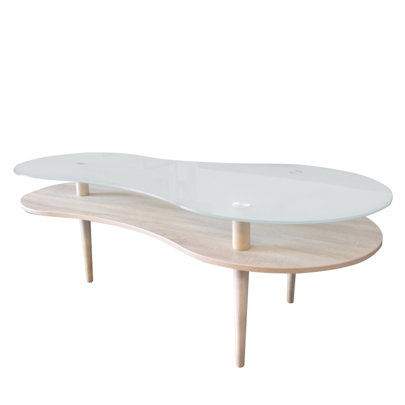 Nordic table basse 70x140x60cm