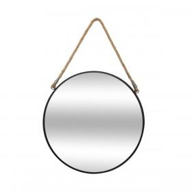 London specchio in metallo e corda 55øx2,5cm