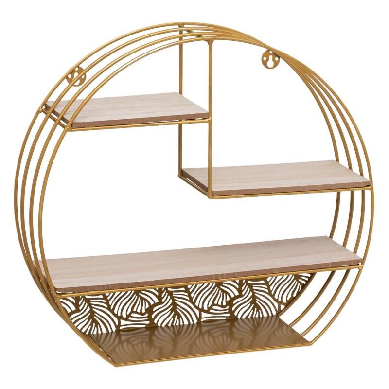 Gold estante de parede 36x39x10,3cm