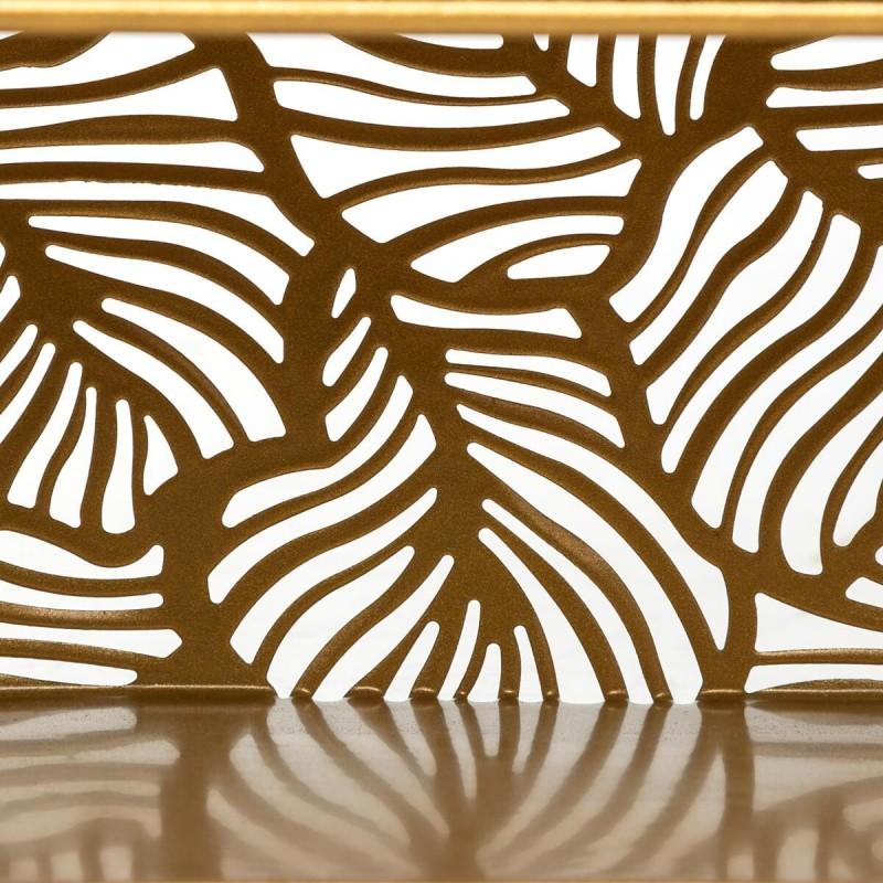 Gold étagère mural 36x39x10,3cm