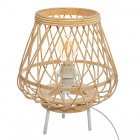 Bambú lâmpada de mesa 27øx31cm