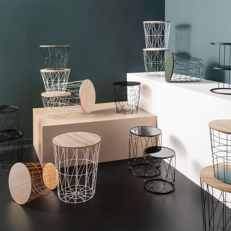 Geometric table d´appoint 30xø38cm