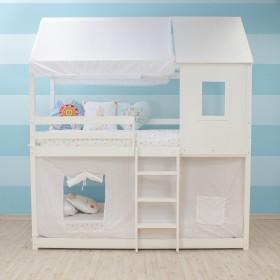 Voilage de lit personnalisés couchette Montessori