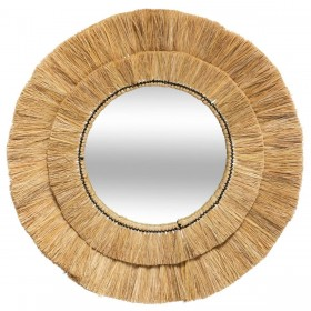 Raphia specchio 57øcm x 2 cm