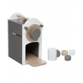 Coffe máquina para hacer cafés de madera 22.5x22.5x11cm