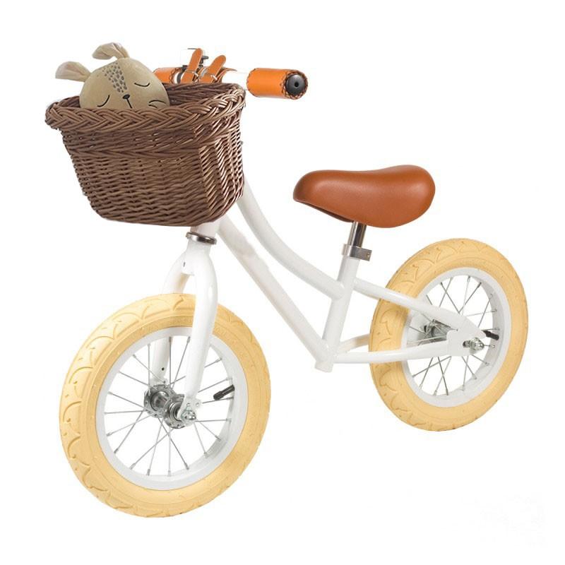 Basket cesta mimbre para bicicletas 30x18x23cm