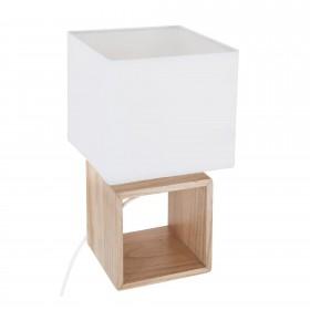 Cube lampada 18x18x32cm