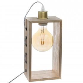 Rectangular lámpara 14x10x29cm