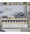 Lilo cama compacta 2 camas + 2 cajones 90x190cm