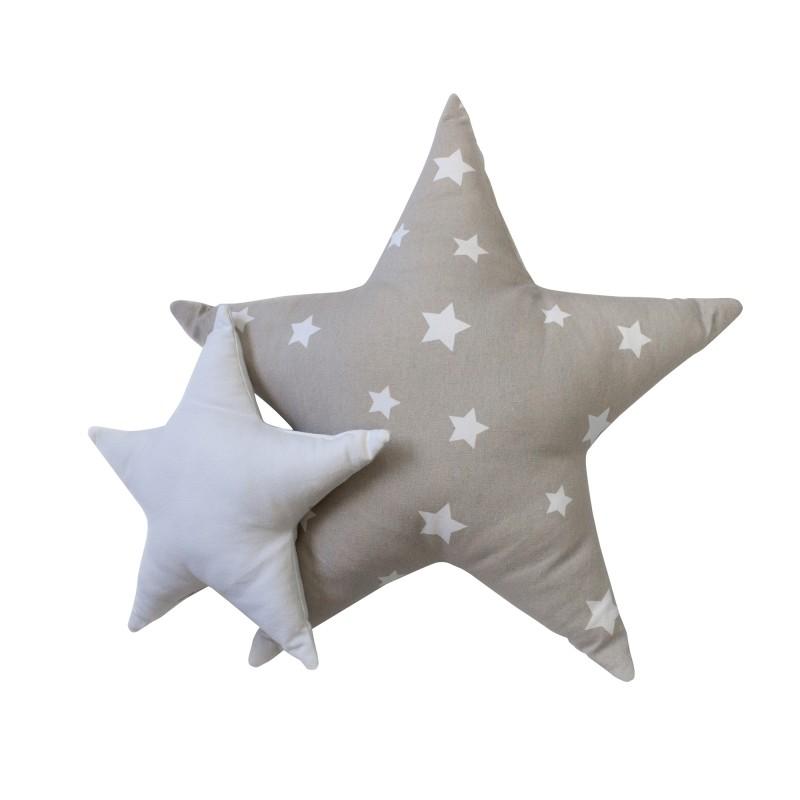 Star set de funda nórdica y cojín. Cama 90/105x190/200cm