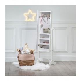 Tiffany miroir à bijoux enfants 119,5x43x 33,5119.5x43x 33.5