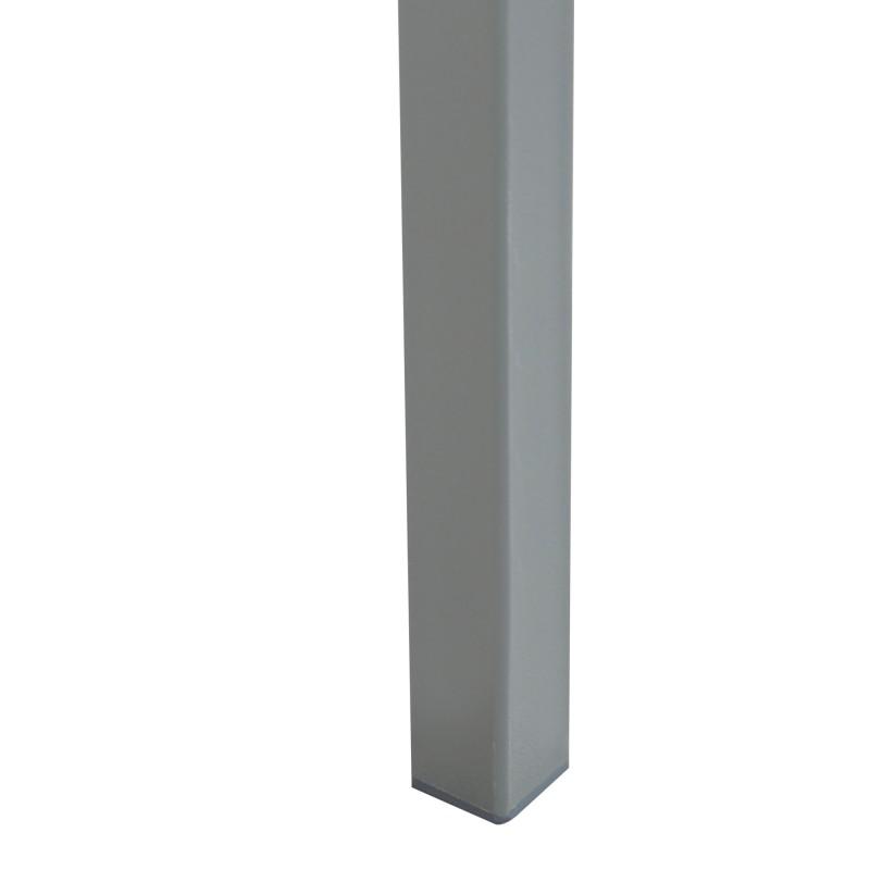 Textil pack de 4 Sillas con estructura color gris 820mm x 420mm x 520mm